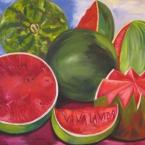 Studie nach eines Werkes von Frida Kahlo