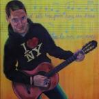 Junge mit Guitarre