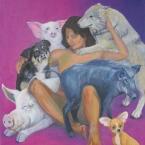 Innere Schweine & Hunde